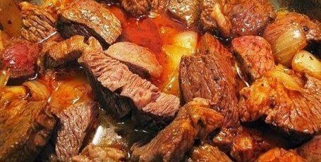 Гуляш из свинины рецепт приготовления