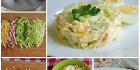 """Нежный и вкусный салат """"Весенний"""""""
