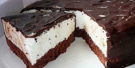 Тортик «Эскимо» очень нежный на вкус
