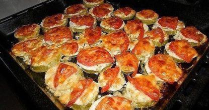 Кабачки под сыром – быстро и вкусно