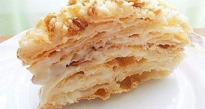 Потрясающий торт Наполеон