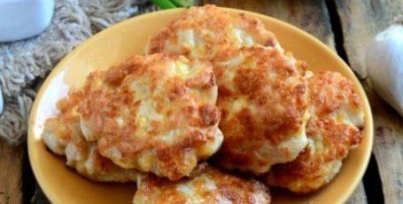 Нежнейшие куриные шницельки с сыром