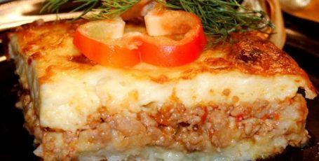 Запеканка картофельно – мясная