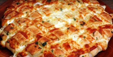 Домашний хлеб с сыром и зеленью, вкуснее не бывает