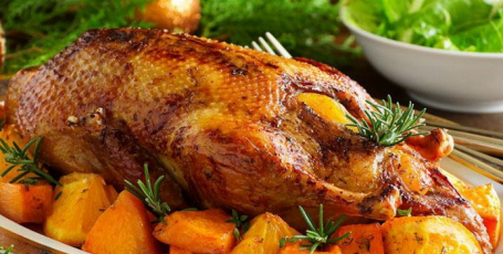 Вкусный субботний ужин – утка в рукаве