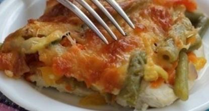 Запеканка из куриного филе с овощами «Нечего делать» – просто и оччень вкусно!