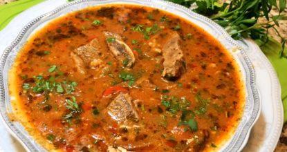 Как очень вкусно приготовить Грузинский суп Харчо