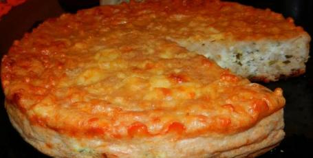 Чудесный пирог из 3 сыров: уплетали за обе щеки