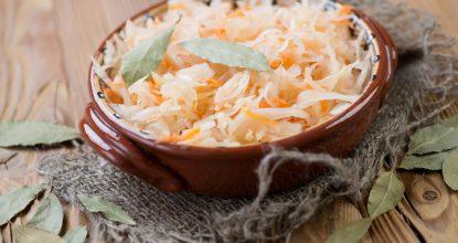 Квашенная КАПУСТА в рассоле – очень просто и вкусно!