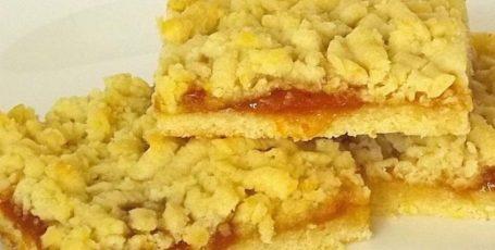 Необыкновенно вкусный пирог из рубленного песочного теста с лимоном