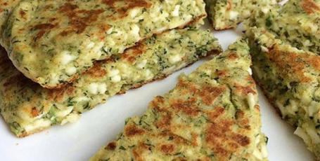 Сырные лепешки – готовятся очень быстро!