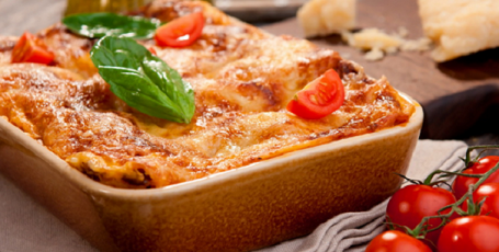 Ужин на скорую руку – ленивая лазанья