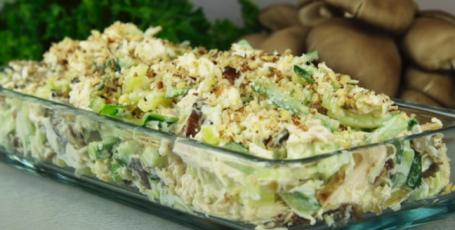Вкуснейший салат «вместо Оливье»