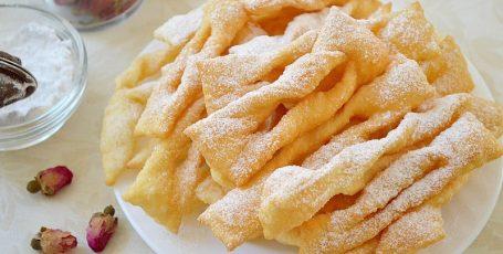 Рецепт вкусного печенья хворост