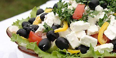 Греческий салат рецепт