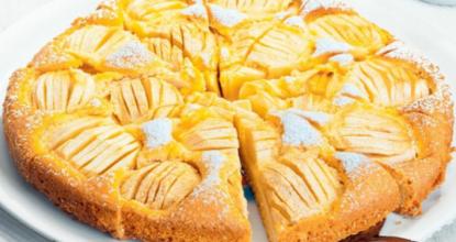 Пирог на кефире -худеющим сладкоежкам посвящается!