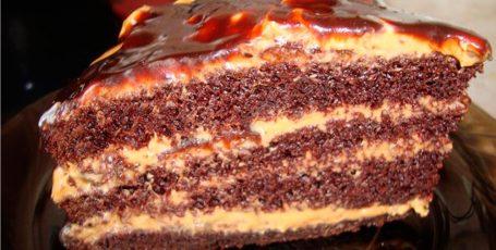 Восхитительно вкусный домашний торт «Золотой ключик». Настоящее лакомство для детей!