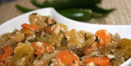 Маринованные баклажаны – простой рецепт