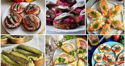 Бутерброды на любой вкус