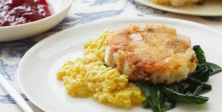 Бабл-энд-сквик (простое английское блюдо)
